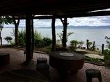 水景の琵琶湖