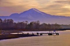 日本百名山 如月の伊吹山