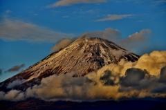 雲上の富士