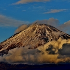 NIKON NIKON D800で撮影した(雲上の富士)の写真(画像)