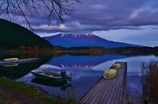 夕暮れの田貫湖