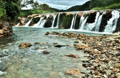 ミニナイアガラ風の十二ヶ滝