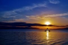 湖西の朝風景