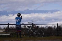 雲上のサイクリング