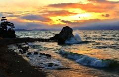夕波の響き