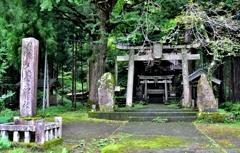 大杉神社参道鳥居