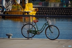 Bicycle・・・in the port