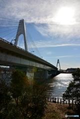 大師橋(上流)