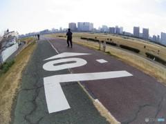 河川敷東京お写んぽ・・・河口まで7.0㎞