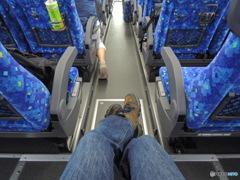 バス、一泊旅行