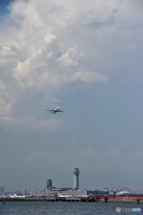 今日の羽田国際空港
