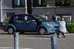 お車の商業撮影ですか?