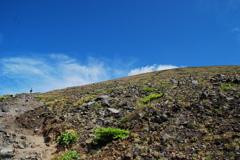 頂へと 浅間山