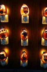 沖縄・土産物のランプ