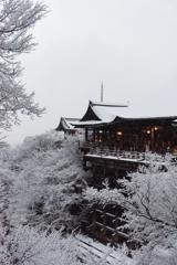 雪の清水寺