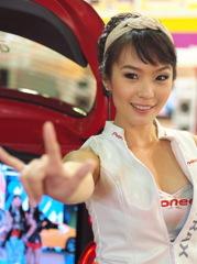Pretty @ Bangkok Auto Salon-8
