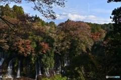 白糸の滝 秋景(Resize)