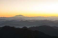 御嶽山の朝