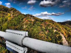 アート・竜神峡大吊橋