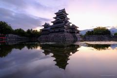 夜明けの城