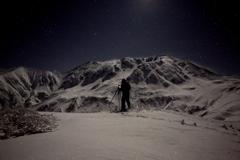 月光の立山