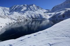絶景の立山・ミクリガ池