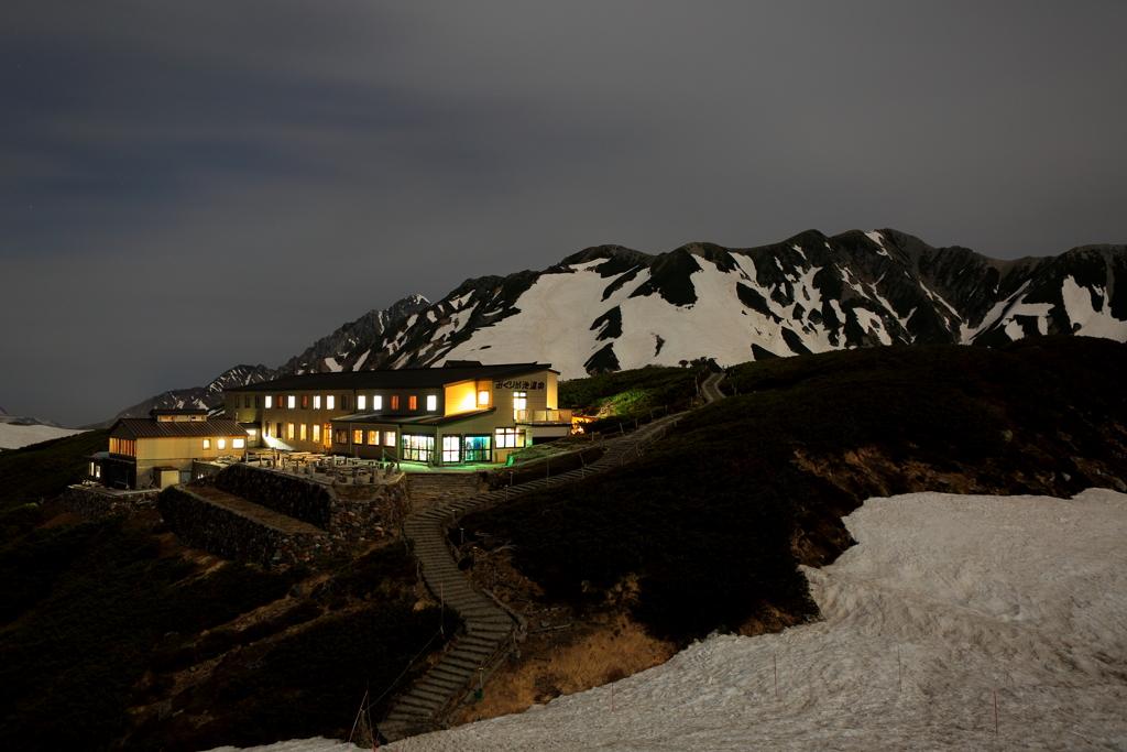 夜のミクリガ温泉