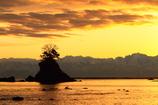 女岩と北アルプス