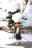 雪の托鉢寒行