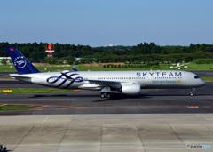 A350 スカイチーム塗装(ベトナム航空)