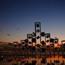 日暮れの晴海埠頭