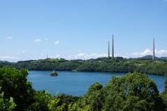 電波塔と灯台