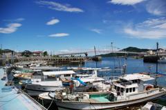通詞島の港