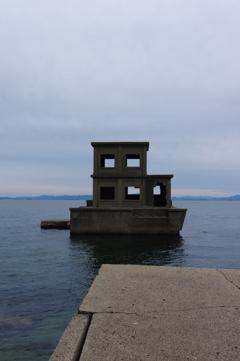 魚雷発射試験場跡