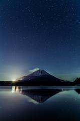 星景と富士