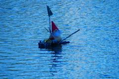 サンタの出帆