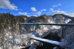 大又川橋梁からの風景