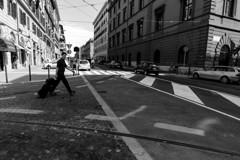 ローマの道も一歩から