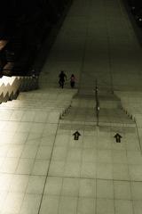 二人の階段