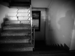地下室への階段~Stairs of the basement
