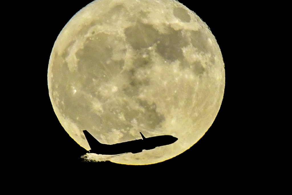 満月の日(10月25日)