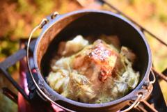 鶏肉の蒸し焼き