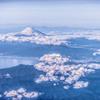富士俯瞰図