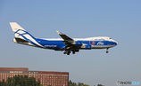 「良い天気」Air Bridgre Cargo 747-4KZF VQ-BHE