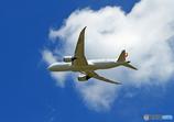 「青空」 JAL 787-8 JA839J 飛び立ち