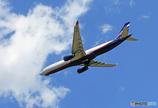 「青空」 AEROFLOT A330-343 VQ-BEK 飛び立ち