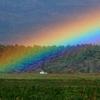 秋彩探し - 虹の境