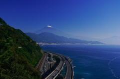 10.12初冠雪の富士山