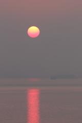 今朝の夜明け 180625-367