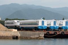 海上に新幹線現る(1) 180728-801